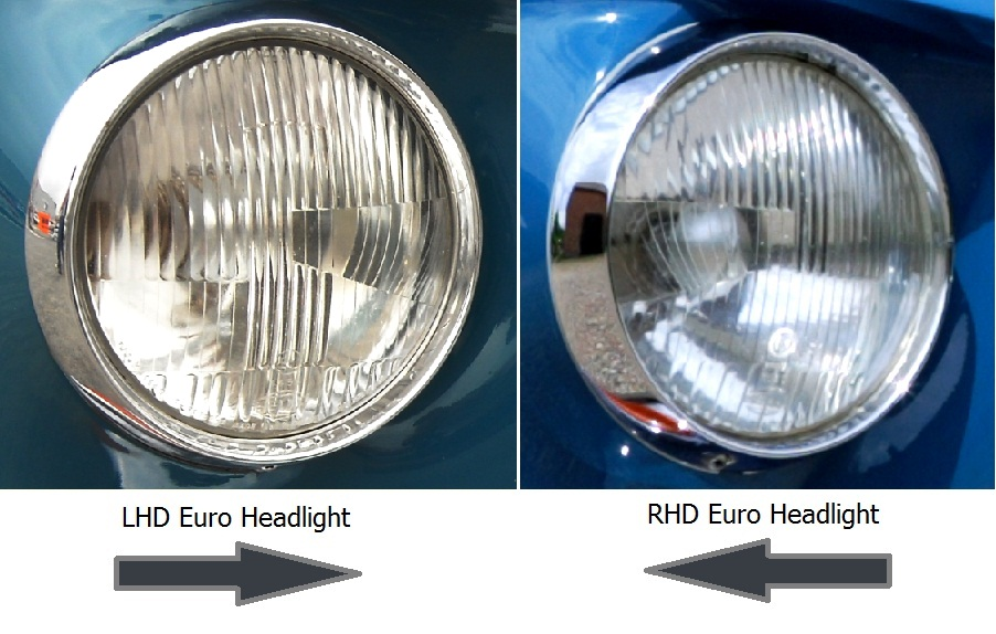 LH Headlight Car Beam Deflectors For Driving in The UK